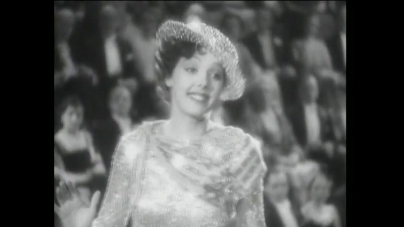 Jessie Matthews Singing and Dancing Production Number