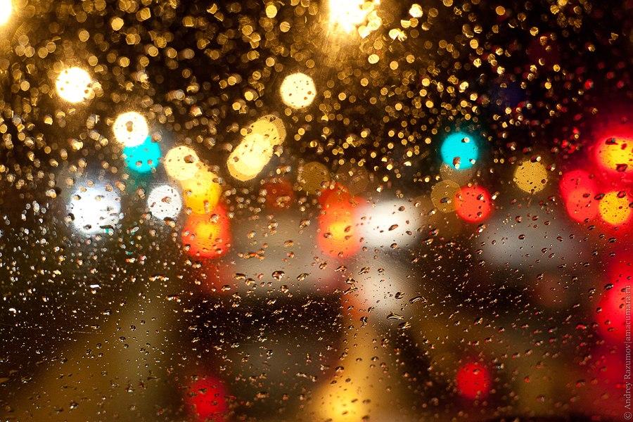 дороги ночью СПб