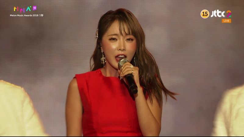 181201 Hong Jin Young (홍진영) - Good Bye (잘가라) [Tango Ver.] with Kim Su Ro (김수로)