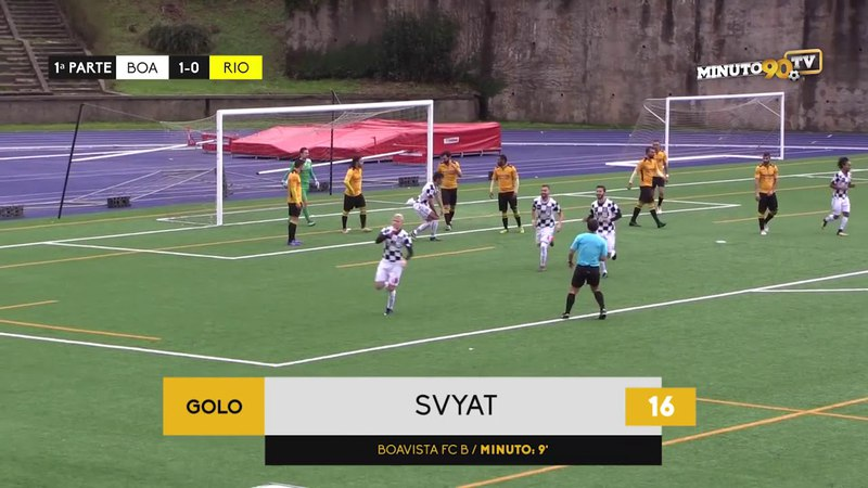 Svyatoslav Vatel | Boavista B - Rio Tinto (1-0) GOAL