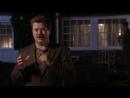 Parks and Recreation - Ron Swanson. Парки и зоны отдыха - Рон Свонсон. Как сжечь чучело своей бывшей жены.