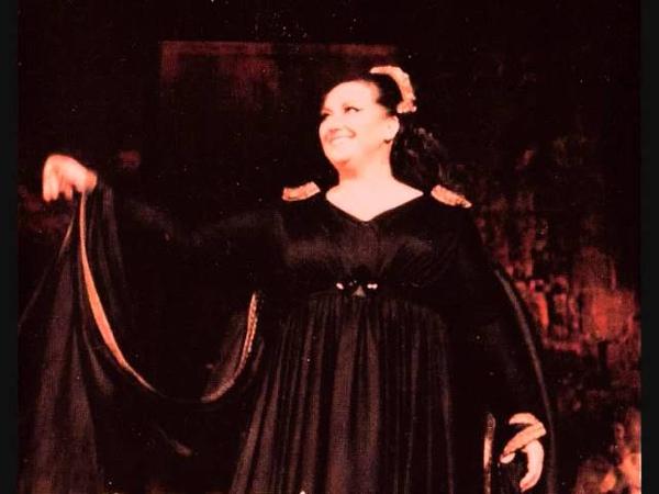 BELLINI Norma Act 3 Deh! Non volerli vittime Montserrat Caballe, 01.04.1974 Lausanne