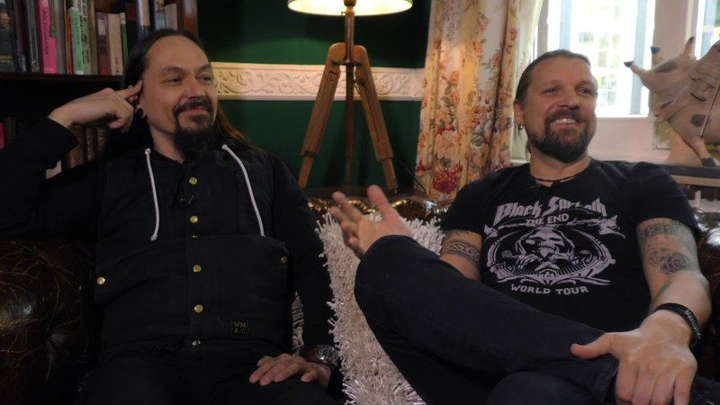 Amorphis interview - Esa Holopainen and Tomi Joutsen (part 2)