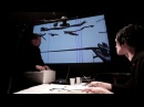 Patrick K.-H. / Oleg Makarov, drawn sound performance in FSG, pt.1