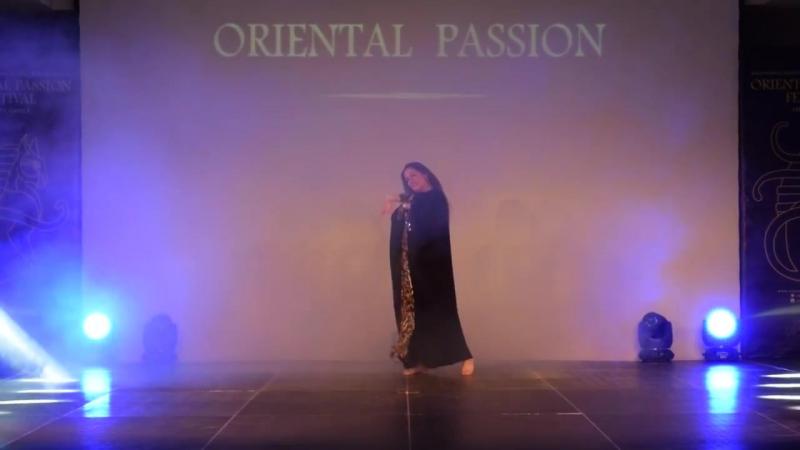 Онлайн Школа Танца Живота. Наша ученица Sofya Roscina (Germany) c постановкой Моны Амар - Халиджи.