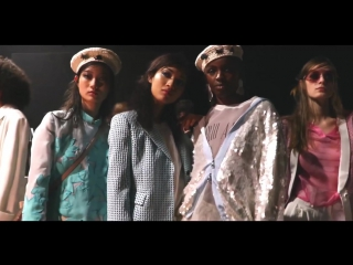 Behind the scenes of the Emporio Armani Spring Summer 2018 Womens Fashion Show with Belle Smith