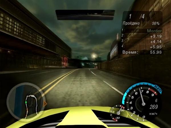 NFS Underground 2 - Ford Focus (Максимальная) - Угол Терминала и 2-й (Спринт)