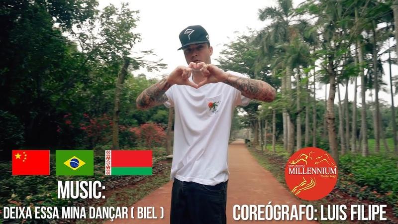 Deixa essa mina dançar Biel | Choreography by Luis Filipe