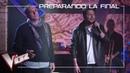 Javi Moya y Manuel Carrasco ensayan el tema 'Déjame ser' | Preparando la Final | La Voz Antena 3