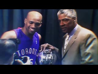 Vince carter career tribute mix stole the show