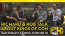 Richard Speight Jr Rob Benedict Discuss Their New Show Kings of Con Comic Con HQ Live