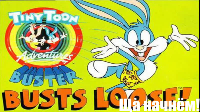 Tiny Toon Adventures - Buster Busts Loose! Snes Super Nintendo (Part1)