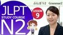JLPT N2 Lesson 9 3 Grammar「8 にもかかわらず even though despite」 日本語能力試験 N2