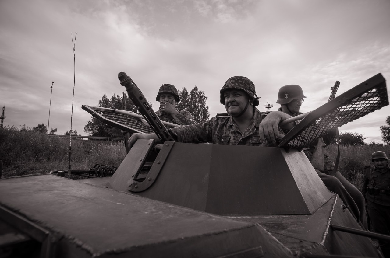 """6-й Международный военно-исторический фестиваль, """"Эстония август 1944"""", посвященный сражениям 1944 года (Валга)"""