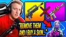 Tfue Says He Will FINALLY Buy a Skin, If Epic REMOVES The Burst Rifles From Fortnite...