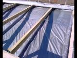 Крыша из профнастила за 7 дней