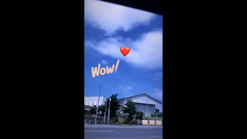 180713 AOA Yuna Instagram Story