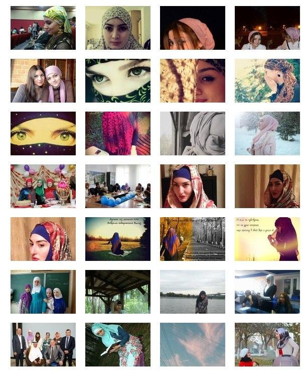 Интернет-голосование фотоконкурса «Красота платка».