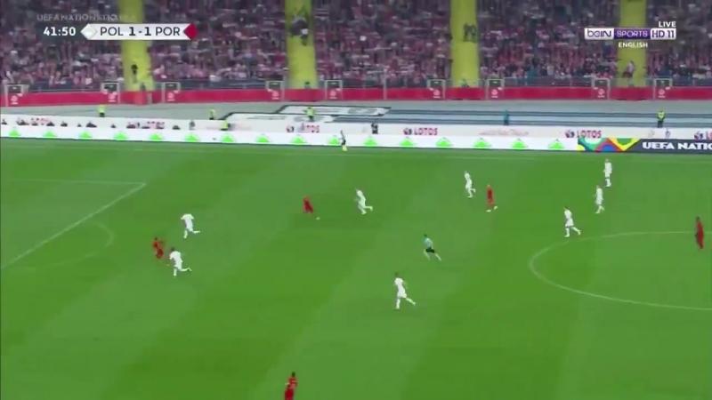 Belo passe de Rúben Neves no segundo golo de Portugal!