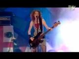 Melissa Auf Der Maur - Live @ MTV Coca Cola Festival
