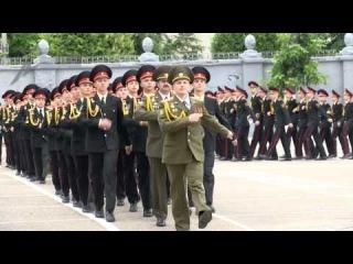 58-й выпуск Минского суворовского военного училища