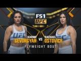THE ULTIMATE FIGHTER FINAL Karine Gevorgyan vs Rachel Ostovich_1