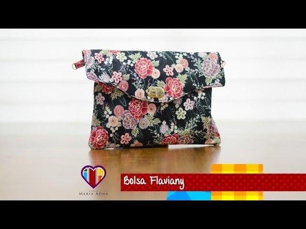 Bolsa carteira de tecido Flaviany. Fabric clutch. Make a fabric pursewallet. Fabric clutch tutorial