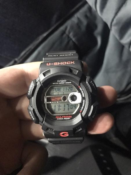 Продам часы g-shock g-9100