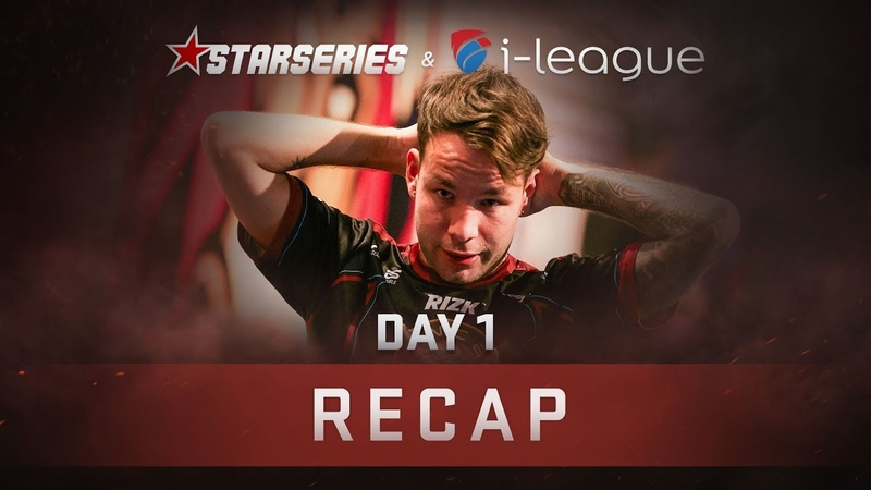 Recap: Day 1 | StarSeries i-League CS:GO Season 6