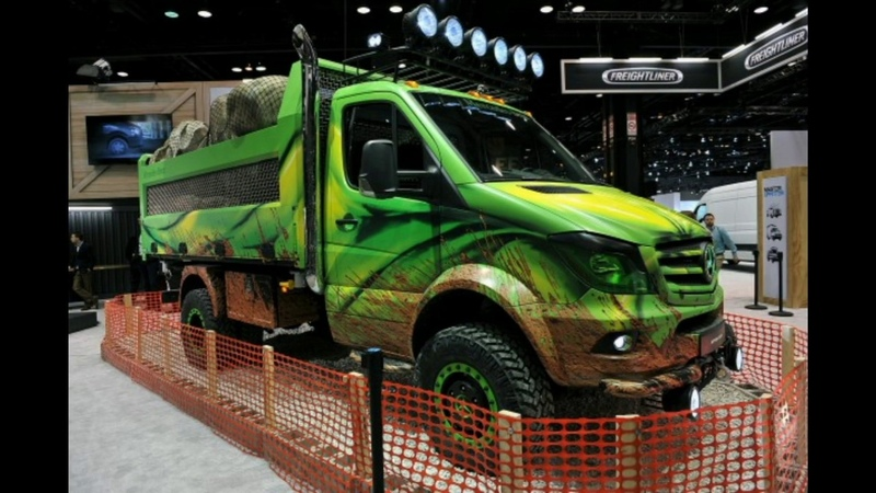 Mercedes Sprinter 4x4 tuning