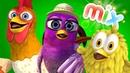 Птичка Гайта, Цыплёнок Пи и много других видео- детские песни | Детское Королевство