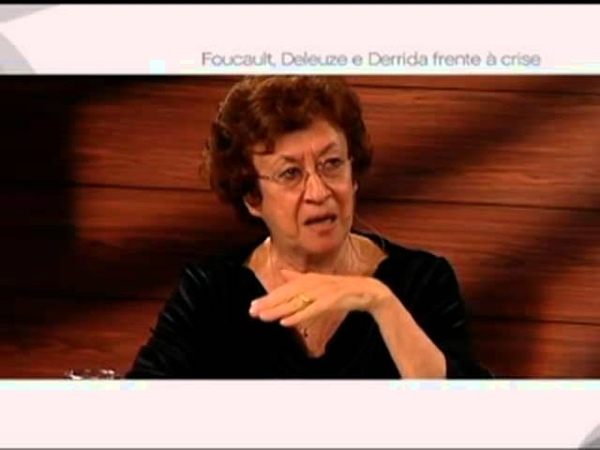 Café Filosófico Foucault Deleuze e Derrida frente à crise Scarlett Marton