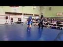 Второй бой Фомягина И Финал Тайский бокс Синий угол Тренер Ратманский СК Black Horse