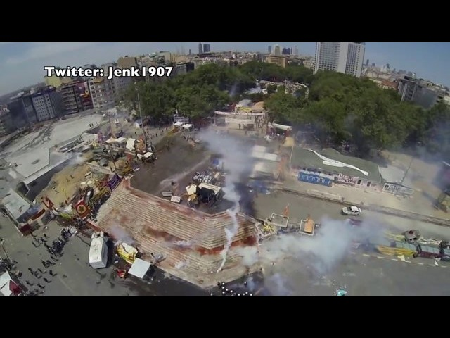 FOOTAGE FROM RC DRONE THAT WAS SHOT DOWN BY POLICE Polis Tarafindan Dusurulen Helikopter [HD]