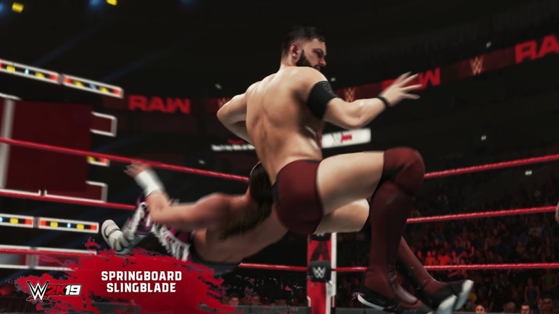 WWE 2K19 New Moves Pack Available Now
