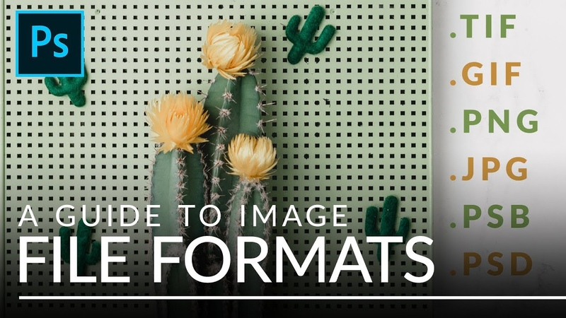 File Formats in Photoshop EXPLAINED (TIFF, GIF, PSB, More)