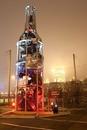 Памятник пьянству за рулем - гигантская бутылка высотой 12 метров…