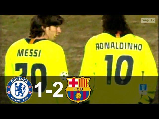 Chelsea vs Barcelona 1 2 UCL 2005 2006 1st Leg Full Highlights