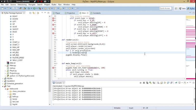 Пишем свою RPG игру на Python. Часть 6: избавляемся от плохого кода, добавляем моба