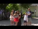 Семья Наследной пары на параде Гростенской ассоциации всадников 2018