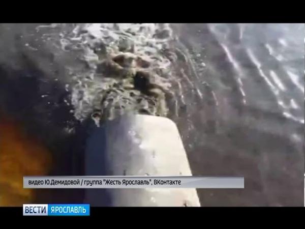 Ярославцы жалуются на сброс нечистот в Волгу
