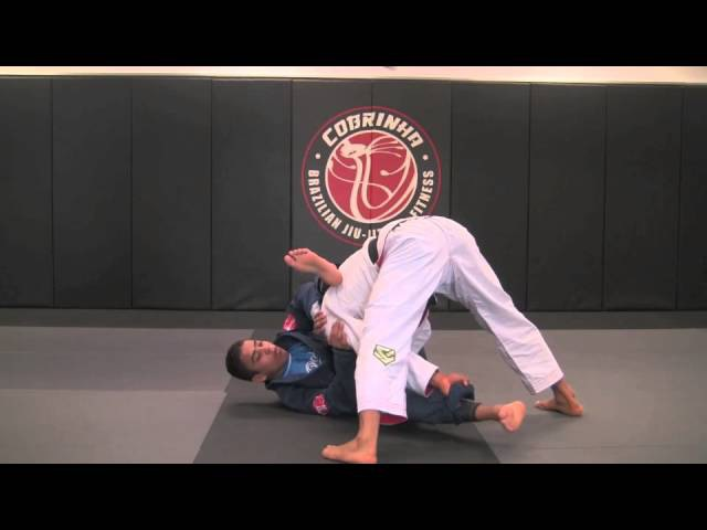 Tripod Miragaia Pass to Back Take - Cobrinha BJJ Fitness Alliance Los Angeles