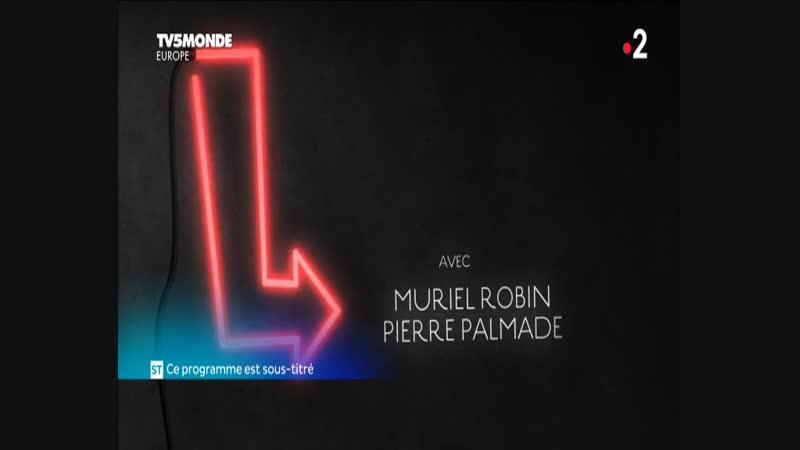 Ils s'aiment depuis 20 ans_Muriel Robin et Pierre Palmade_TV5 Monde (рус.суб)