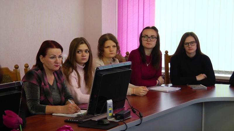 Встреча с председателем областного Совета депутатов Екатериной Зенкевич