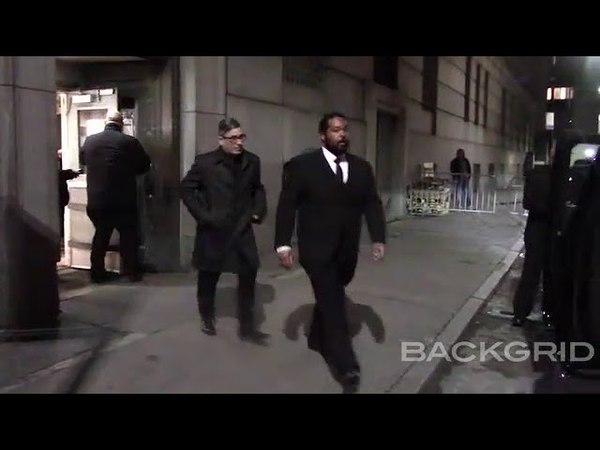 Ricky Martin and husband Jwan Yosef leaving Cipriani after The Center event in New York City.