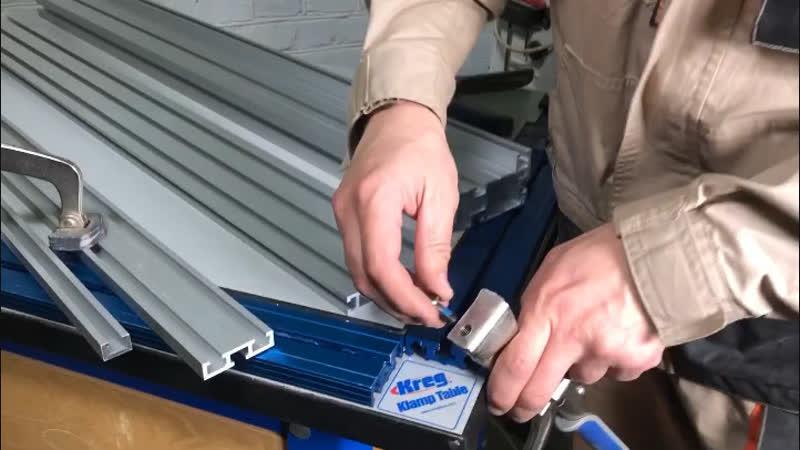 Подходят ли верстачные прижимы Kreg Bench Klamp Automaxx для алюминиевых профилей с Т-образными пазами для головки 8-мм болта?