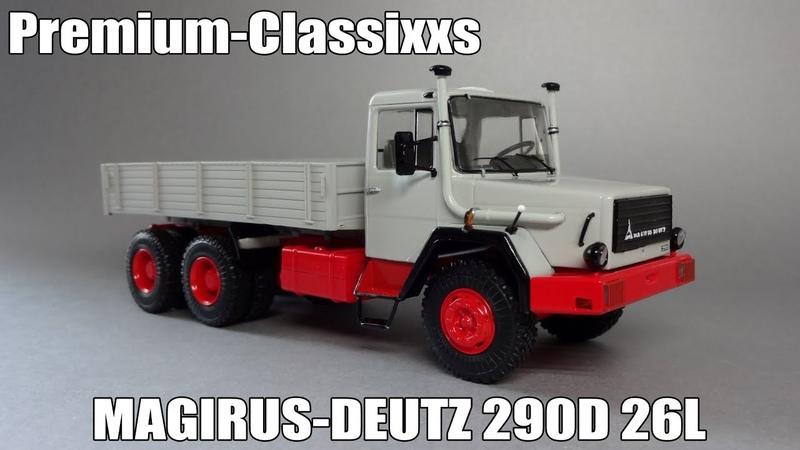 Magirus-Deutz 290D 26L - SSM - Premium Classixxs
