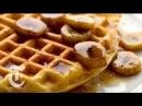 Cornmeal Waffles With Bourbon Syrup | Melissa Clark Recipes