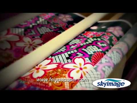 Sublimation Printing Process with Mimaki TS500-1800 High Speed Printer