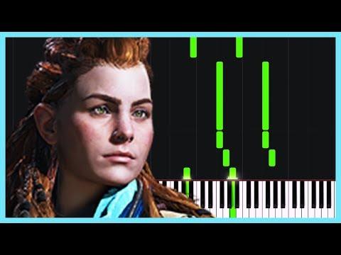 Aloy's Theme Horizon Zero Dawn Piano Tutorial Synthesia Meet Parekh